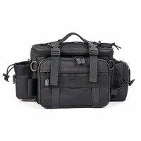 Outdoor Sports Fishing Bag Large Capacity Multi Functional Single Shoulder Bag Waist Pack Gear Utility Storage