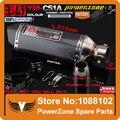 Ym-c51a modificado motocicleta silenciador tubo de escape TTR YBR YZF RSZ CBR CB400 CF250 CBR600 CBR250 ER6N ER6R YZF600 frete grátis