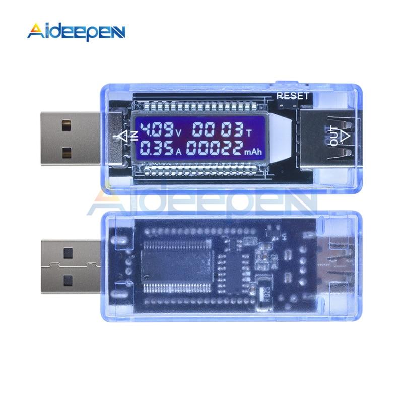 Цифровой амперметр, вольтметр, ЖК-дисплей, измеритель напряжения, зарядное устройство