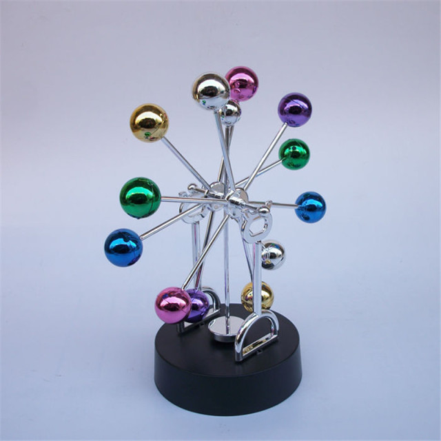 Perpetual-Debate-Colorful-Cradle-Newtons-Balance-Balls-Physics-Science-Magnetic-Desk-DIY-Decoration-Anti-stress-Education