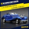 1:32 de coches de juguete, modelo de Simulación de aleación de coche, coches clásicos Retro, Tire Hacia Atrás del coche, regalos de navidad para los niños.