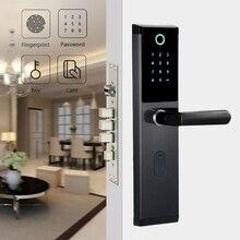 YOHEEN Умный Замок с Биометрическим распознаванием с цифровым паролем RFID ключ для Карты Электронный смарт-замок двери отпечатков пальцев