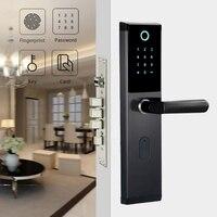 YOHEEN Smart Biometric Fingerprint Lock with Digital Password RFID Card Key Electronic Smart Fingerprint Door Lock