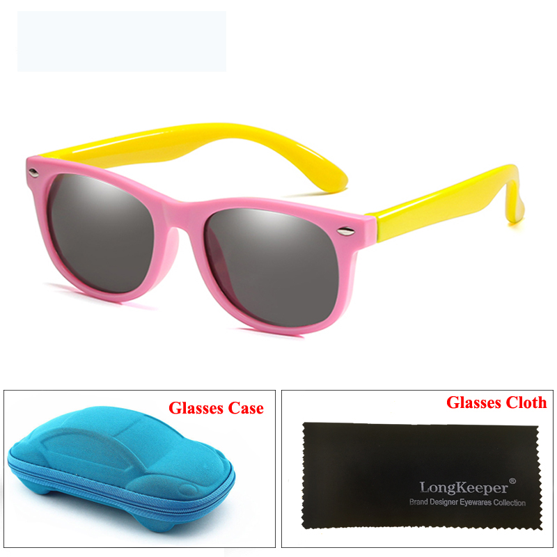 a13857701a2 Dropwow LongKeeper Mirror Kids Sunglasses with Case Boys Girls ...