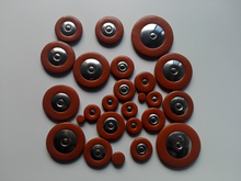 (2 Sets/Lot) Alto Saxophone Pads Deluxe Quality Fit  In Saxophone Repair