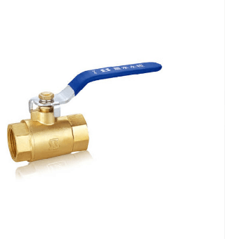 Q11F-16T 104 Brass thread PPR ball valve Water valve natural air valve DN65 green plastic coated metal lever 30mm thread on off brass ball valve