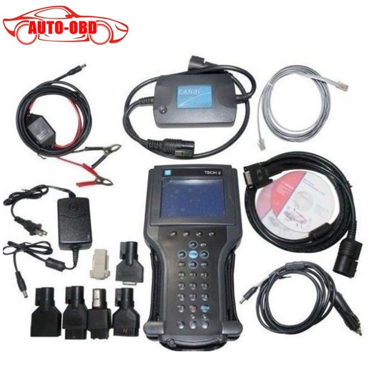 Цена за Высочайшее качество gm tech2 диагностический инструмент для GM/SAAB/OPEL/SUZUKI/ISUZU/Холден Vetronix gm tech 2 сканера без пластиковой коробке