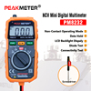 Non Contact Mini Digital Multimeter DC AC Voltage Current Tester HYELEC MS8232 Free Shipping