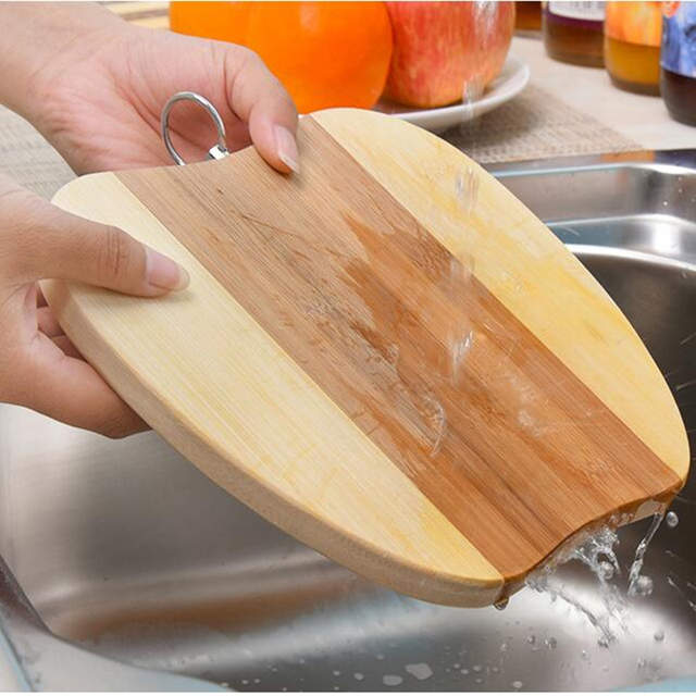 b53b898b5 New Thick Strong wood Cutting Boards Bread and Fruit vegetables chopping  board with metal handle kitchen