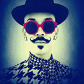 2017 New Brand Designer Sunglasses Women Mirror Round Pink Sunglasses Men Hexagon Hip Pop Pilot SunGlasses Stylish Eyewear UV400