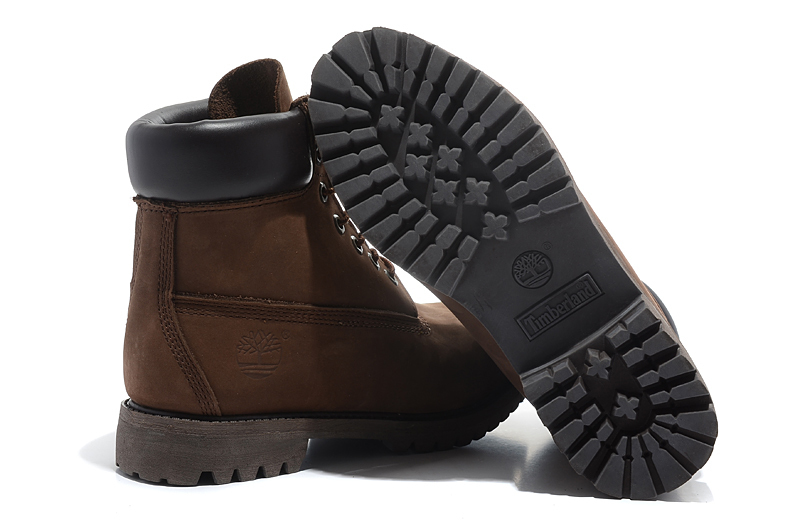 TIMBERLAND Classic Men 6-Inch Premium 10061 Dark Brown Ankle Motorcycle Boots For Man Genuine Cow Leather Martin Coffee Shoes  1