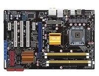 Placa-mãe original para asus p5q se mais ddr2 lga 775 16 gb usb2.0 p45 desktop motherborad