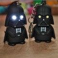 Led llavero linterna Darth Vader star wars Anakin Skywalker figura llaveros correas del teléfono móvil