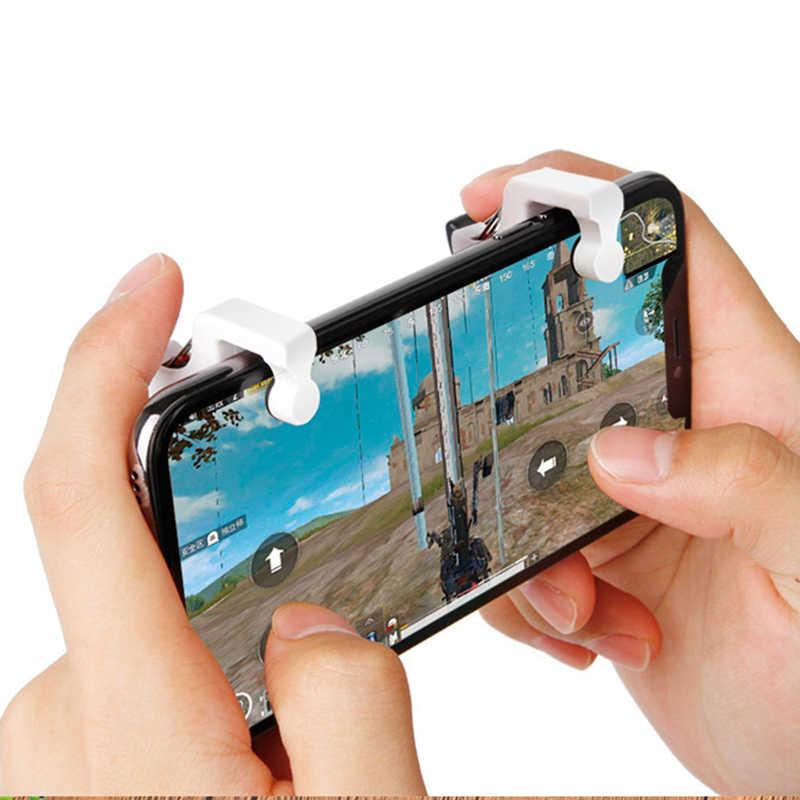 Untuk Pubg Controller Gaming Memicu Permainan Pad Tujuan Kunci Smart Ponsel Game Mobile L1R1 Gamepad untuk Xiaomi iPhone Fortnit