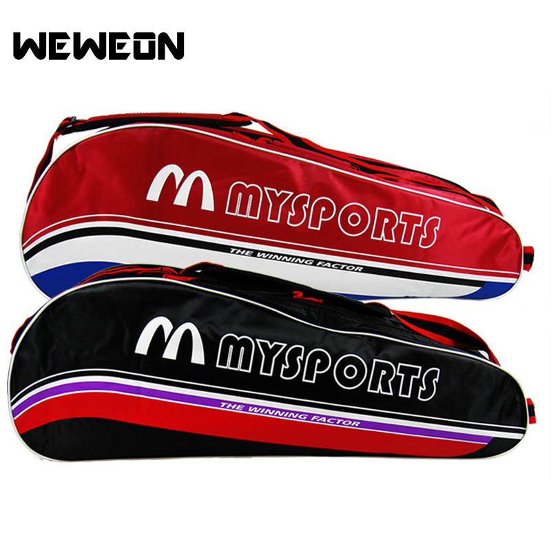 Professional Badminton Racquet Bag Women Men Single Shoulder Bag for Badminton Racquet Women Badmintom Bag 3 Colors