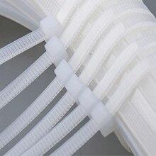 10X series twist wire tie wraps nylon cable ties mount kabelbinder zip kabel binder nylons strap free shipping