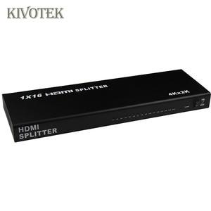 Image 4 - 1x16 4K HDMI Splitter Box 1 in 16 out, hdmi1.4 1 zu 16 ports splitter Unterstützt DTS HD Dolby AC3/DSD Für HDTV HD PlayerBest Preis,