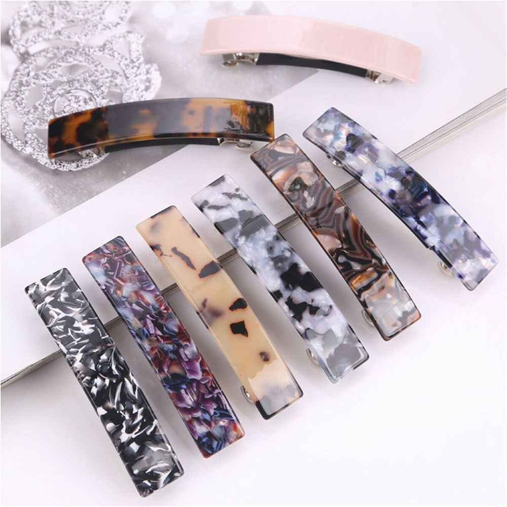2019 New Arrival Leopard Hair Clips for Women Barrette Bobby Pin Hairpin Alloy BB Hairgrip Girls Fashion Hair Clip Accessories