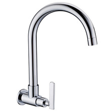 360 вращающийся носик один холодная вода кран ванная умывальник кухня умывальник кран один холодная затычка KF516