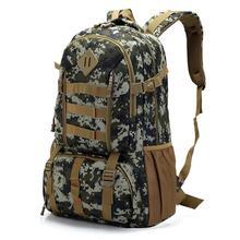 40L Outdoor Travel Tactical Backpack Camping Hiking Military Bag Fishing Hunting Tactical Bag Military Backpack Sports Rucksack