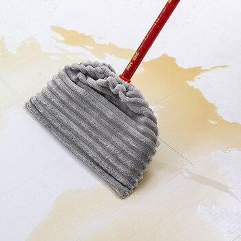 NICEYARD flanelowa ścierka do mopa pokrywa do czyszczenia podłóg szmata wielofunkcyjna miotła Mop wymiana pokrywy wielokrotnego użytku narzędzia do czyszczenia do domu