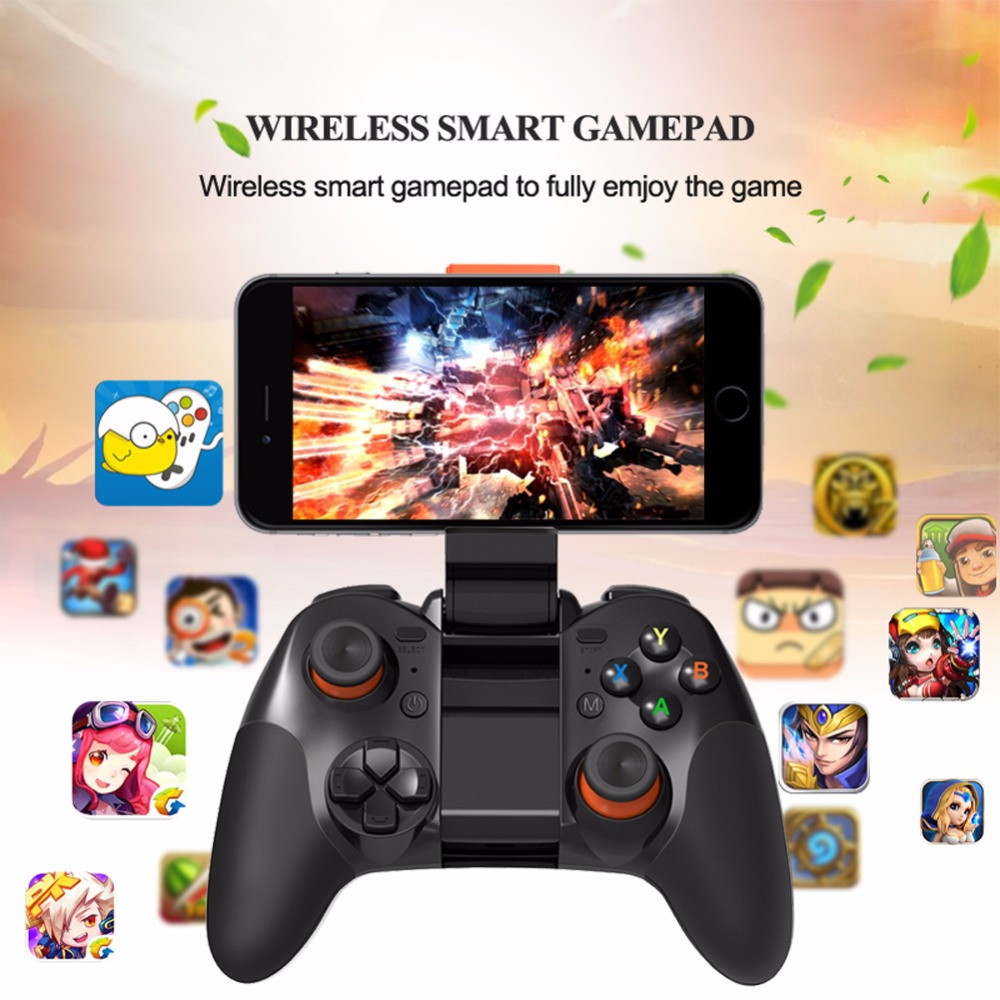 New Wireless Bluetooth Smart Gamepad Double Rocker Game Controller Game Joystick for Android Phone Pad Android