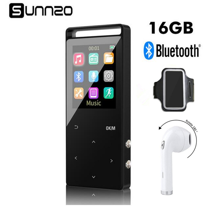16GB Bluetooth MP3 Player HiFi Digital MP3 Music Player With Bluetooth Earphone Sport Armba Lossless mini Portable Audio Player все цены
