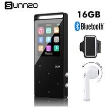 16 ГБ Bluetooth MP3 плеер HiFi Цифровой MP3 плеера с Bluetooth наушники Спорт Armba без потерь мини Портативный аудио плеер