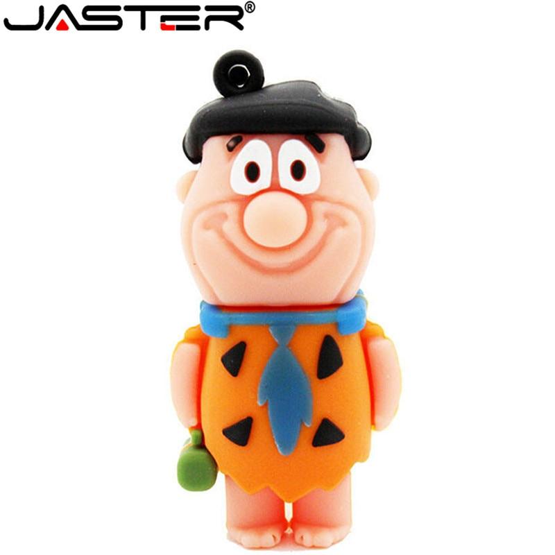 JASTER The Croods Pendrive 4gb 8gb 16gb 32gb Cartoon Usb Flash Drive Memory Stick U Disk Cartoon Thumb Pen Drive New