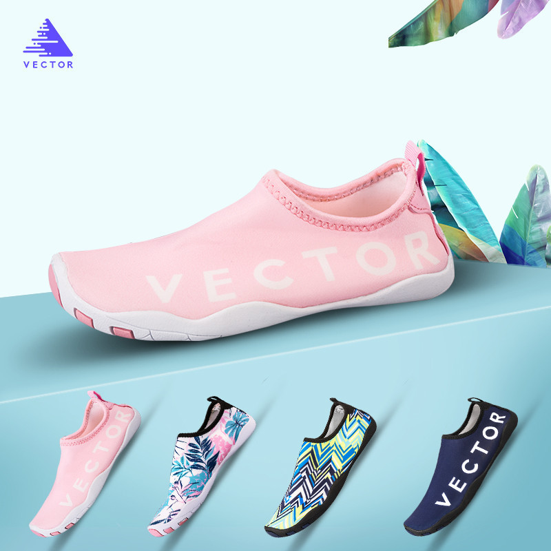 Vector Children's Swimming Shoes Water Shoes Kid Beach Sneaker Aqua Slippers Non-slip Breathable Quick-drying Barefoot Soft Sock