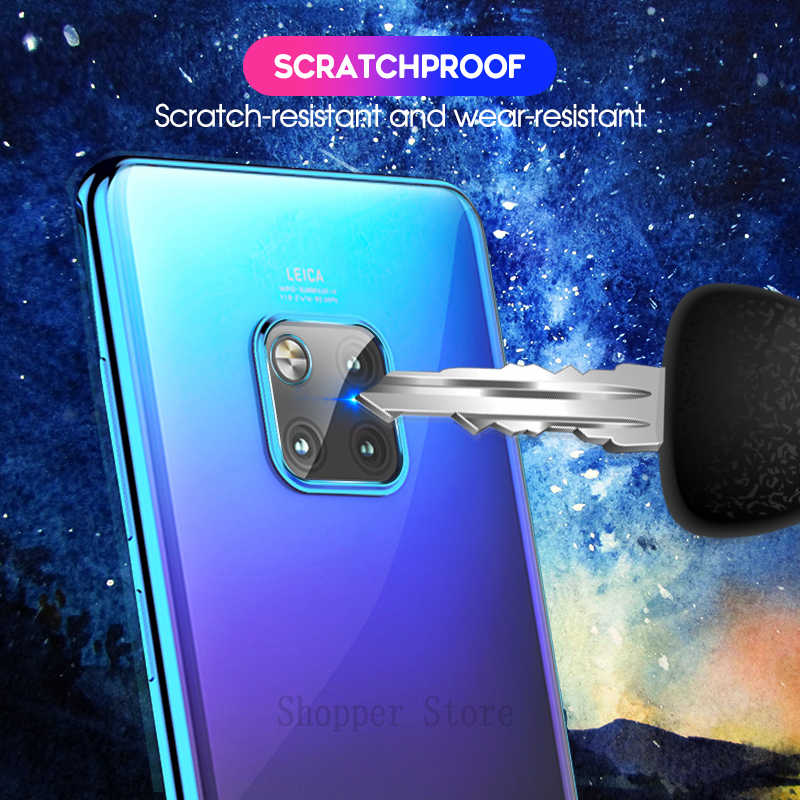 Soft Camera Lens Tempered Glass For Huawei Mate 20X 20 Pro P20 For Honor 8X 9i Magic 2 Note10 Back Lens 9H Screen Protector Film
