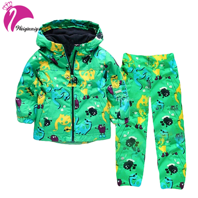 Toddler Boys Clothes Set Winter Girls Clothes Dinosaur Jacket+Pants 2 Pcs Kids Clothes Sport Suit For Boys Children Clothing Hot autumn winter boys clothing sets kids jacket pants children sport suits boys clothes set kid sport suit toddler boy clothes