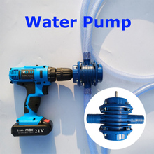 Self Priming Hand Electric Drill Water Pump For Fish Tank Aquarium Home Garden Micro Submersibles Motor Centrifugal Water Pumps cpm 130 centrifugal self priming water pump with copper wire and brass impeller
