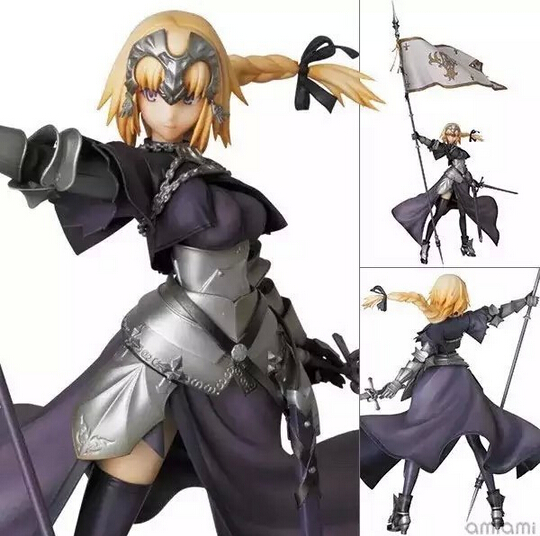 NEW hot 20cm Fate/stay night Fate Apocrypha SABER Joan of Arc action figure toys Christmas gift collectors alen new hot fate stay night racing girl black blue white saber throne pajamas action figure toys collection christmas gift doll