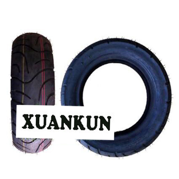 XUANKUN Scooter Tire 130/60-10 Vacuum Tire Motorcycle Tire Friction