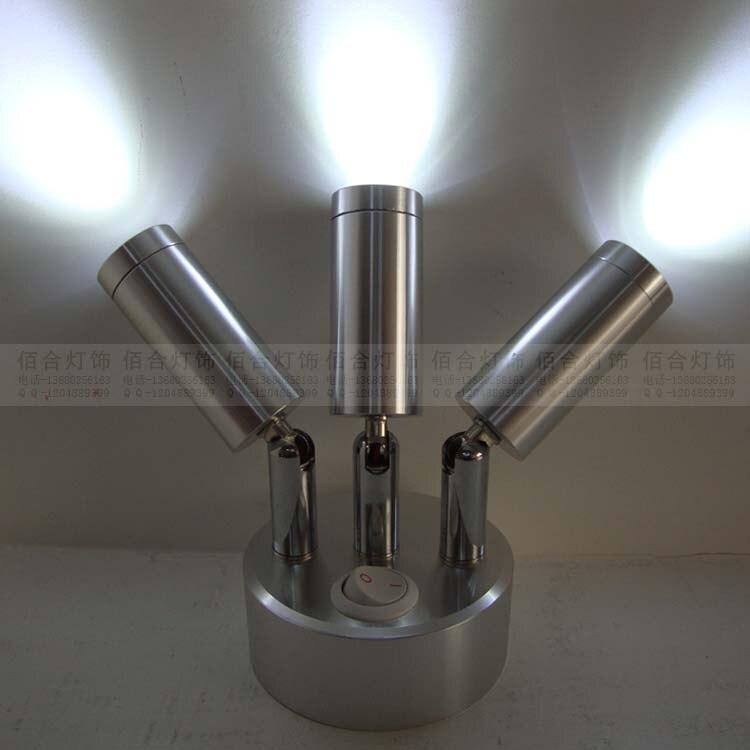 Лампы без источника питания три магазин одежды с свадебные ювелирный магазин полки сетке лампы Перезаряжаемые батареи SD56