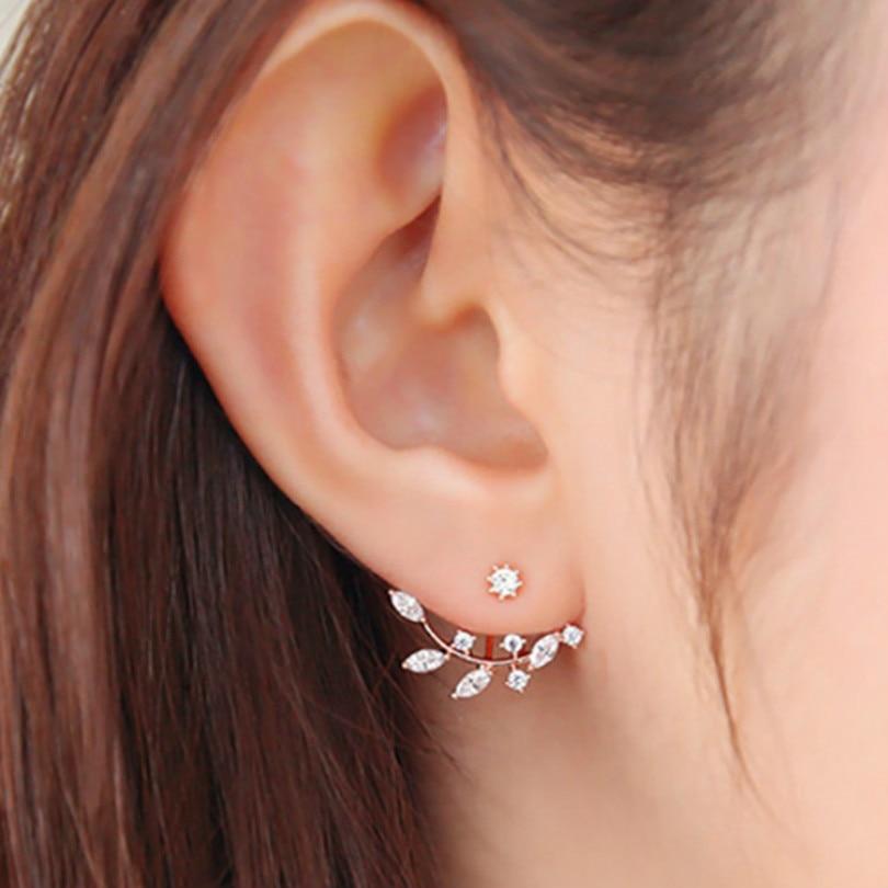 2016 Hot Korean Fashion Crystal Earringss