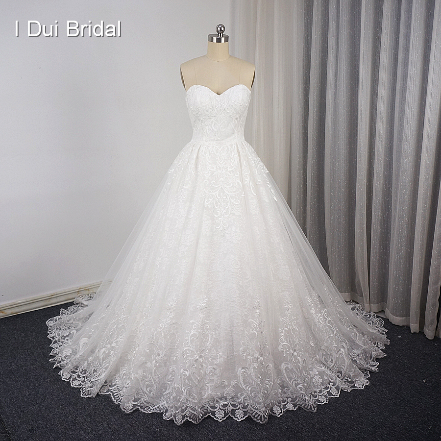 Sweetheart Ball Gown Unique Lace Wedding Dress Up High Quality Bridal Alibaba Drop Ship Robe De Mariage Vestido In Dresses From Weddings