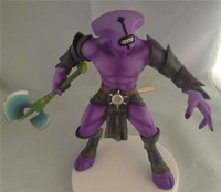DOTA 2 Faceless Void figure Defense of the Ancients 2 heroes FV toy Game lovers collection 18cm doll free shipping