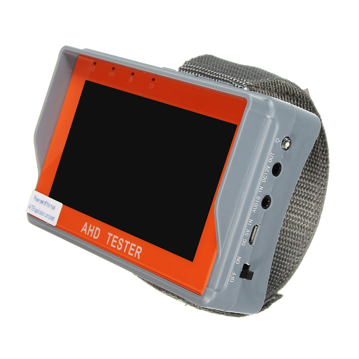 Safurance 4.3 inch TFT LCD HD CCTV AHD Tester Monitor Analog Camera UTP Cable PTZ 12V Home Security dhl fedex frees shiping new product pro security ahd hybrid cctv tester 3 5 tft cctv camera video ptz tester brand new