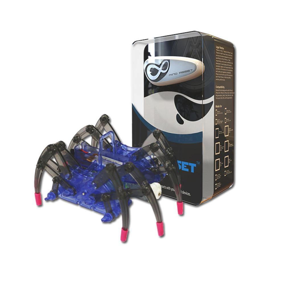 Jouets éducatifs pour enfants cerveau Radio vague idée contrôle bricolage Spider Intelligence Robot jouets cerveau vague Detector1 + jouet araignée - 4