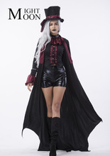 MOONIGHT 2017 Gothic Vampire Costume Costume Sexy Vampire Costume Women Masquerade Party Halloween Cosplay Stage Costume