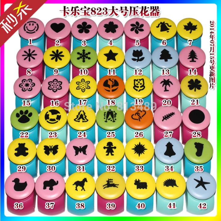 Lates Update July 2014 5pcs 25mm Large Paper Punches Craft Punches For Scrapbook DIY Paper Craft Flower Shaped Decor Free Shipp