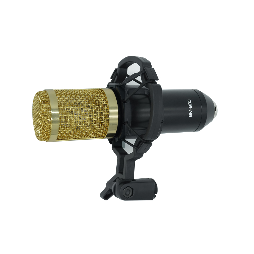 TGETH BM 900 Computer Condenser Microphone 3.5mm Wired With Shock Mount For Recording Braodcasting Better than BM 800 100% new professional bm 800 bm800 condenser sound recording microphone with shock mount for radio braodcasting singing black