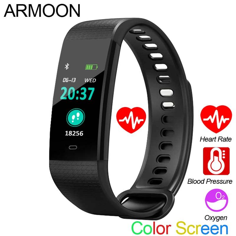6a1fe280608b Sale Pulsera inteligente Y5 sueño Monitor de Fitness Tracker de ...
