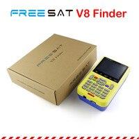 Genuine FREESAT V8 Finder Satellite Finder Meter DVB S S2 Tuner With 3 5 Inch