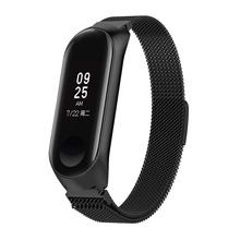 Wrist Strap For Xiaomi Mi Band 3 Milanese loop Stainless Wristbands Miband 4 smart Bracelet watch band Metal Belt Accessories недорого
