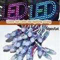500 pcs 12mm WS2811 2811 IC RGB Led Module String Waterproof DC12V Digital Full Color LED Pixel Light Free Shippping