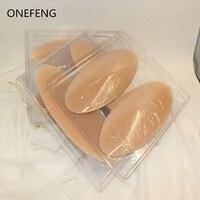 Freies Verschiffen Silikon Bein Onlays Silikon Kalb Pads für Schief oder Dünne Beine Körper Schönheit Fabrik Direkte Versorgung ONEFENG