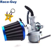 22 Mm Karburator PZ22 Carb + 38 Mm Filter Udara untuk 110cc 125cc Mesin Cina ATV Quad Go Kart Pit pro Kotoran Trail Sepeda Motor(China)
